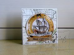 Art-Carta  : Kartka w morskim klimacie (3)