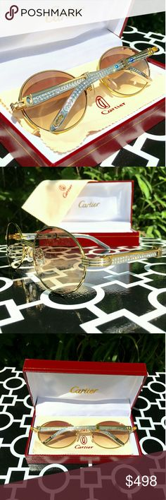 df58fb7e16b DIAMOND CARTIER LIMITED EDITION GLASSES!!! DIAMOND CARTIER LIMITED EDITION  GLASSES!!! UNISEX...FOR MAN OR WOMAN!!! GRADIENT TINTED LENSES!!!