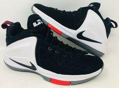 pick up b54d6 3460e Nike Zoom Witness Lebron James Mens Basketball Shoes Black 852439 003 SIZE  9  Nike  BasketballShoes