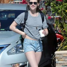 Top Pick: Kristen Stewart Leggy in Shorts Out in Los Feliz #bestofweek