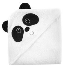 """Luvable Friends Animal Face Hooded Terry Towel - Panda - Baby Vision - Babies """"R"""" Us Toys For Little Kids, Panda Bebe, Baby Vision, Baby Kids, Baby Boy, 5 Babies, Diy Bebe, Baby Towel, Terry Towel"""