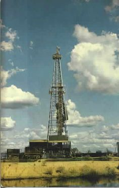 This would be the type of oil rig that would use my Daddy's bits. His company was called Harper Oil Tool Oilfield Trash, Miss Texas, Texas Cowboys, Houston Rodeo, Texas Things, Oil Field, Confederate States Of America, Texas Forever, Big Oil