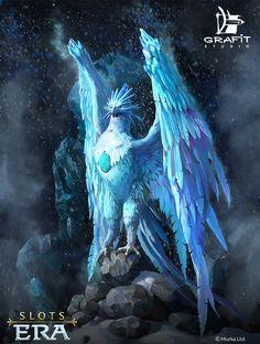 Ice & Fire Phoenixes , Grafit Studio on ArtStation at https://www.artstation.com/artwork/99Eoo
