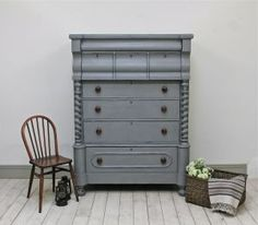 Large Imposing Victorian Scotch Chest of Drawers. - For Sale | Distressed But Not Forsaken