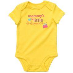 """""""mommy's little shopper"""" #carters"""