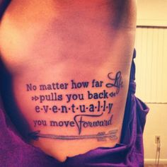 She Flies With Her Own Wings - The Most Inspiring Quote Tattoo Ideas on Pinterest - Livingly