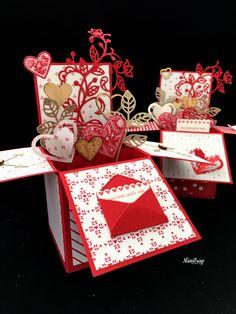 Carte pop-up «love» / pop-up card «Love»