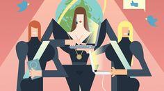 Par Roxanne VARZA @roxannevarza  Les femmes vont-elles faire jeu egal avec les top-entrepreneurs ?