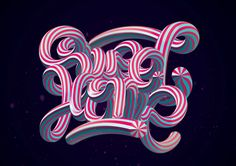 SWEET HOME  #lettering #blend #sweet #typography #vector #type #customtype #vectorlettering #illustration #art #creative #letters #font