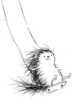 Pearl the hedgehog….