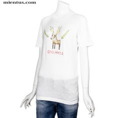 DSQUARED2 T-Shirt Printed Deer