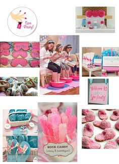 Teen Girl Spa Party Ideas   Sweet and Sour Kids Blog