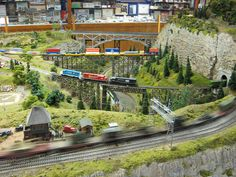 ho+train+layouts | Ho Scale Model Train Layouts