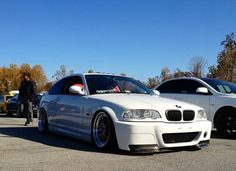 BMW E46 M3 with Red Alcantara Ring GT Seats