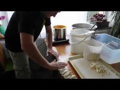 Výroba sýru Parenica - YouTube