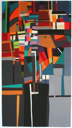 The quilting adds a whole new dimension! -ph (Susan Wessels - Change)