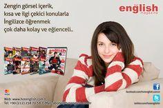 Güncel, Canlı, Eğlenceli Aylık İngilizce Dergi