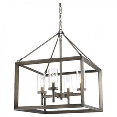 Golden Lighting 2073-4 GMT Stanton Mini Chandelier