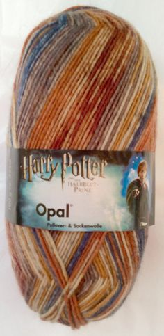 HARRY POTTER  Colorway: RON  Opal Sock Yarn  4-ply by SocksGalore