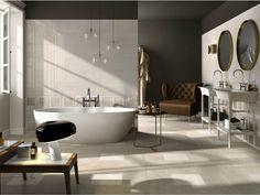 Porcelain stoneware flooring with concrete effect EGO by Cooperativa Ceramica d'Imola
