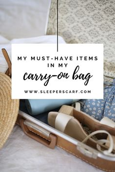 Carry-on packing list Carry On Essentials, Carry On Packing, Packing Tips For Vacation, Packing Lists, Travel Packing, Long Flight Tips, Pack Your Bags, Must Have Items, Business Travel