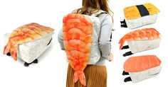 These Backpacks From Japan Look Like Giant Sushi | Bored Panda