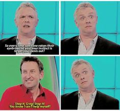 Would I Lie to You, Greg Davies, Lee Mack / @Chelsochist Lee Mack, Greg Davies, Are You Not Entertained, Broadway Plays, British Comedy, Laugh Out Loud, Life Is Good, Theatre, Tv Series