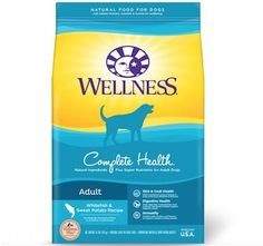 Wellness Complete Health Natural Dry Dog Food - Whitefish and Sweet Potato Recipe - 30lb ** Check out the image by visiting the link. (This is an affiliate link and I receive a commission for the sales) #Pets