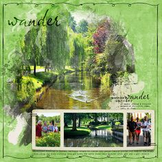 Barbara's Cre8ive Escape: Wander | Borken, Germany  (layout by Barbara Unzen)