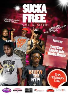 #SuckaFreeParty for my homie @chrnc Feb 13th popping off at @premiercleveland make sure you get them tickets or next week we giving some away for your chance to win tune in to @gipbkr216 radio all next week Special Performances by @youngshon216 @mookie_motonio @shuicideholla @crazy8thegreat @bfesqueeze @itstheref and many more for tickets now hit up 216-510-7378 ask for #Tickets and say I want to be #suckafree