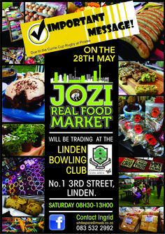 Jozi Real Food Market