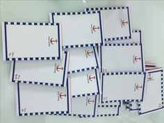 souvenir notepads for godparents #nauticalnotepad