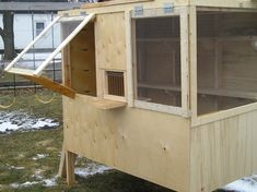 The wife is sick of the pigeons in the garage so I'm finally working on a pigeon coop. Currently I just have 5 barn pigeons in a rabbit cage. I may try get some homers or maybe some of the ferral pigeons will breed once I have the coop completed. At a mi...