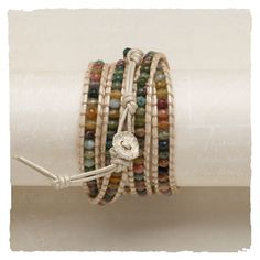 Favorite bracelet...just like Chan Luu..