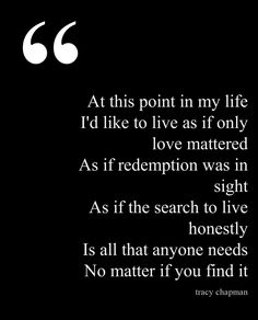At This Point In My Life by Tracy Chapman