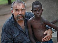 Machine gun preacher. This man (Sam Childers) is an example of someone who is willing to step into the unknown to help the children and people of South Sudan, Uganda, and the Congo as they fight against Joseph Kony.