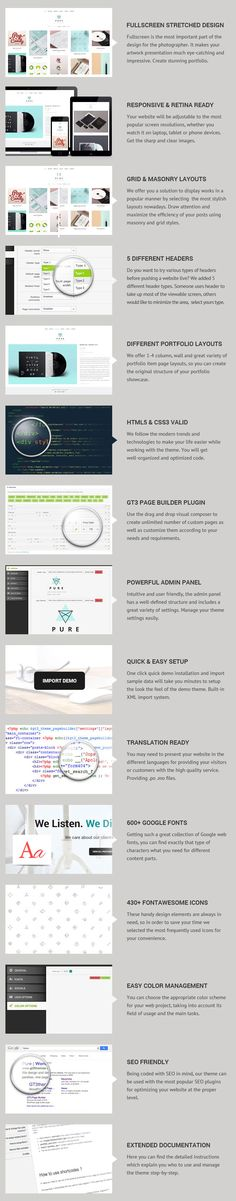 http://www.mightydeals.com/deal/free-download-pure-wordpress-theme.html?refID=6ace6d22  Great resources