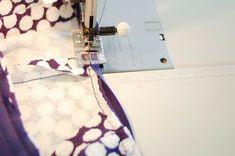 Sewing the Davie Dress Neckline