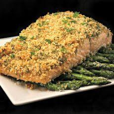 Dijon Crusted Salmon