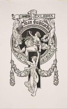 Alexandre de Riquer - EX LIBRIS de Joan Subirachs
