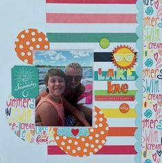 Lake+Love+**My Creative Scrapbook using the July Creative kit 2016