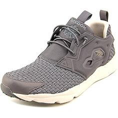 390a3e832d75 Reebok Furylite New Woven Men US 8 Gray Running Shoe   Click image for more  details