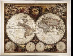 Monde wit antique world maps Old World Map by mapsandposters, $8.88