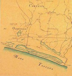Clicca sulle immagini per ingrandirle Per visualizzare altre antiche mappe vai a: galleria foto di Toscana