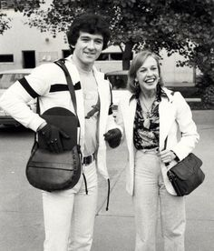 Patrick Duffy and wife Carlyn Rosser