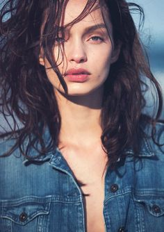 Luma Grothe by David Bellemere for Marie Claire Italia November 2015
