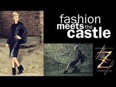 fashion meets the castle - YouTube
