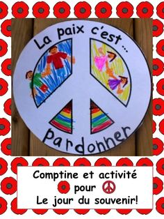 Comptine et activités prêtes à imprimer pour le jour du souvenir! Remembrance Day Poems, Remembrance Day Activities, French Teaching Resources, Teaching French, Phonics Activities, Kindergarten Activities, Poppy Craft, Projects For Kids, School Projects