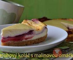 Fotorecept   Tvarohový koláč s malinovou omáčkou