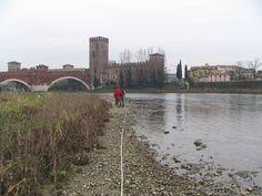 Le indagini fisiche sono: misurazioni per il calcolo della velocità della corrente e calcolo della portata del fiume